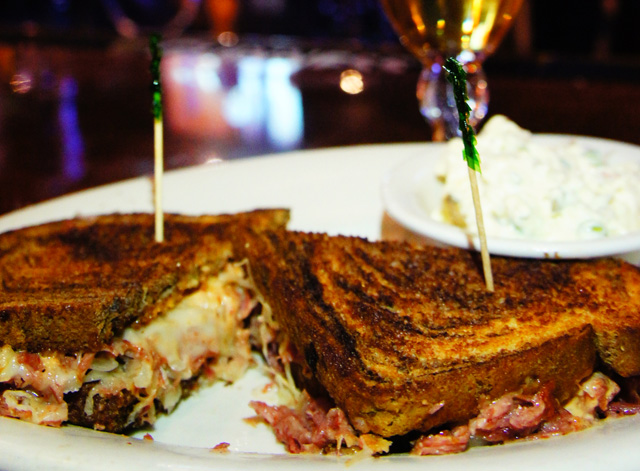 The Reuben at Madrona Arms | Photo by Ronald Holden