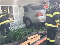 Car crashes into adult care residence in Meadowbrook