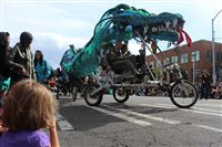 Turn your wagons, bicycles, strollers and scooters into Solstice Parade floats this Saturday