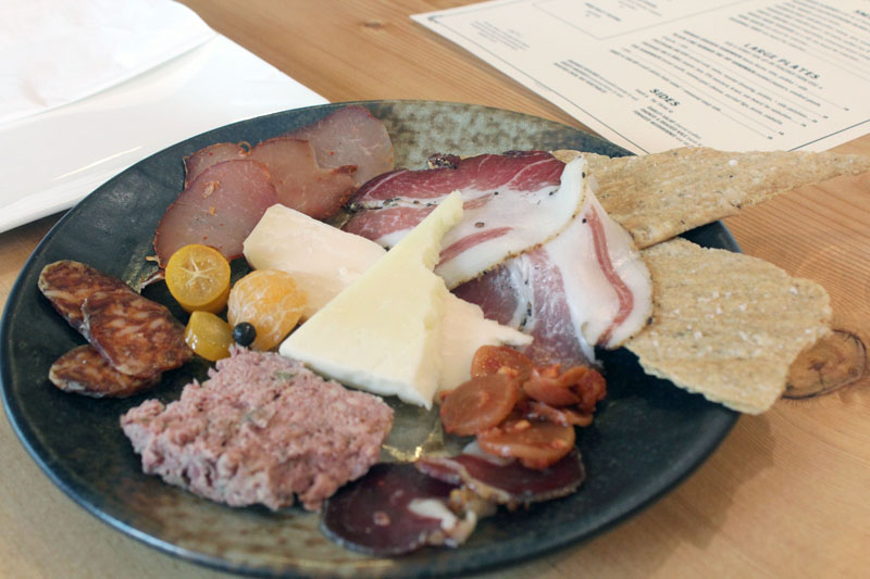 Photo by Ryan Murray  The interesting and diverse charcuterie plates at The Shambles are a highlight of an already exciting menu. People around the city are responding, and the restaurant remains packed nearly every night,